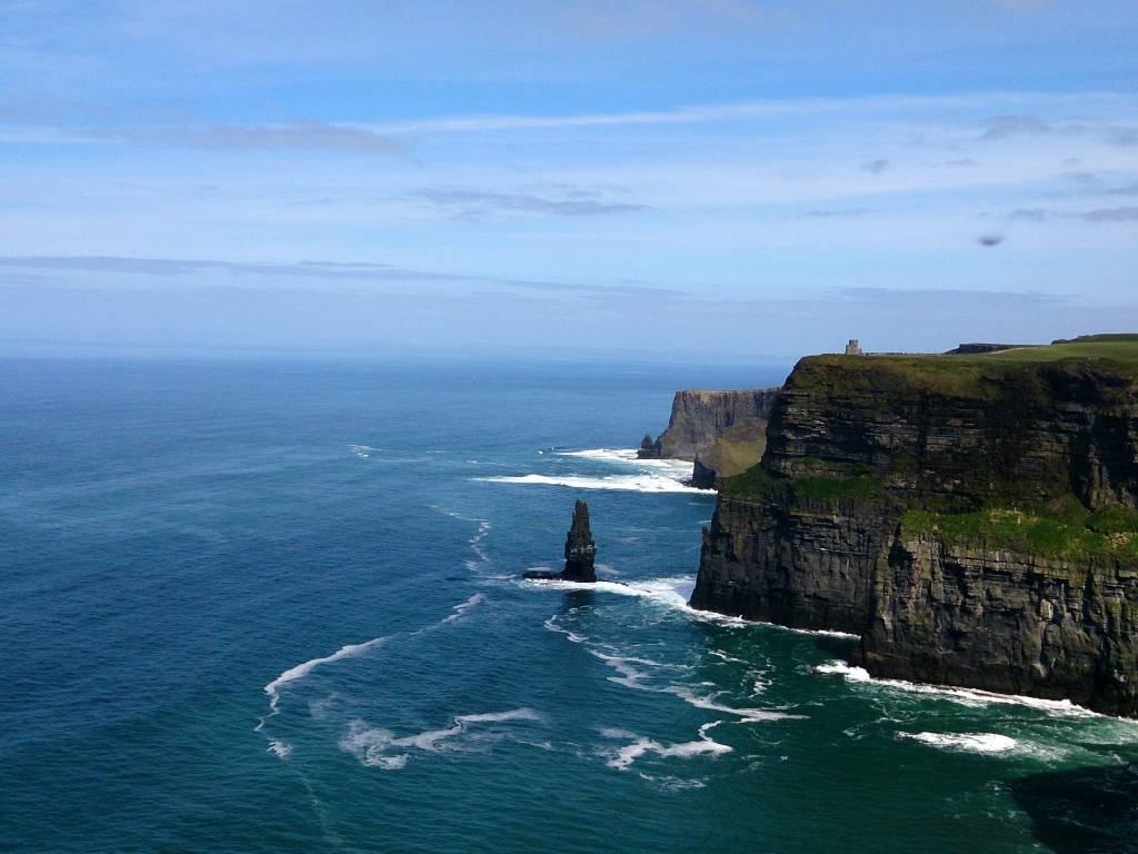 View of the Cliffs of Moher