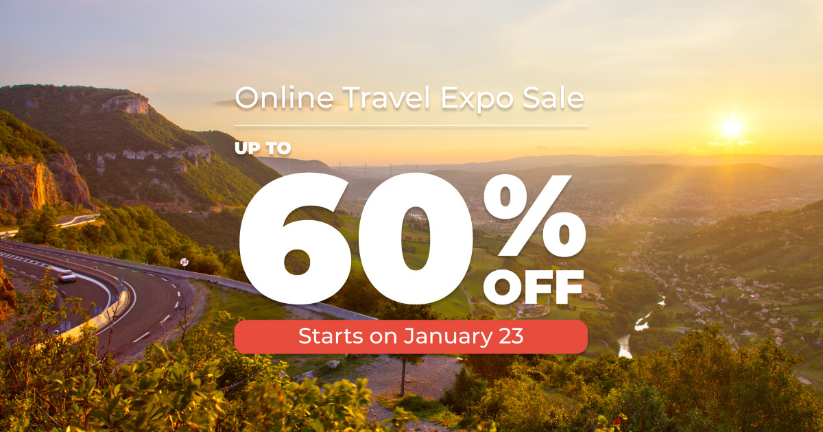 Save Big With TourRadar's Online Travel Expo Sale!