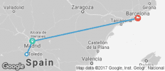 Madrid & Barcelona featuring the AVE High-Speed Train (Madrid to Barcelona) - 4 destinations