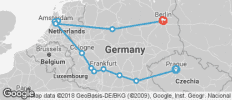 Prague to Berlin (from Prague to Berlin) - 13 destinations