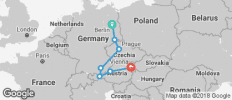 Three Capitals (from Berlin to Vienna) - 7 destinations