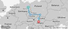 Berlin To Budapest (from Berlin to Budapest) - 6 destinations