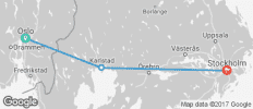 Oslo To Stockholm - 3 destinations