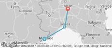 Nice To Milan - 3 destinations