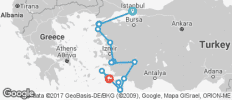 Constantinople to the Dodecanese Tour - 17 destinations