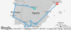 Iberian Splendours (from Madrid to Barcelona) - 15 destinations