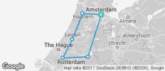 Classic Holland Cycle - 6 destinations