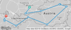 Country Roads of Bavaria, Switzerland and Austria (Summer 2018, 12 Days) - 13 destinations