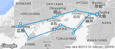 South Japan Express - 13 destinations