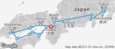 Wonders of Japan End Osaka (from Tokyo to Osaka) - 19 destinations