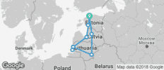 Baltic Highlights with private escape in a coastline (16 days) - 9 destinations