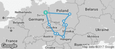 Eastern Road (End Berlin, 13 Days) - 10 destinations