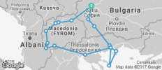 Ancient Macedonia - 17 destinations