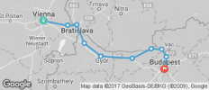 Hungary - Vienna to Budapest Bike Tour - 10 destinations