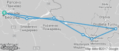 Danube Cycling Holiday - from Belgrade - 7 destinations