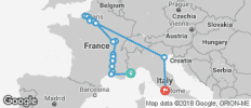 Grand France with 3 Nights Venice & 3 Nights Rome – Northbound - 19 destinations
