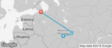 Grand Tour of Russia - 4 destinations