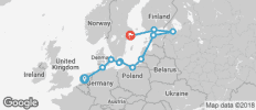 Baltic Tradewinds Route 11 Days - 11 destinations