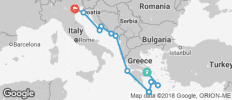 Greek Isles & Dalmatian Discovery 11 Days - 11 destinations