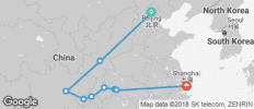 13 Days China Capitals & Yangtze River - 9 destinations