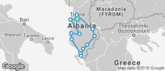 Classical tour of Albania   - 13 destinations