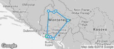 Best of Montenegro - 9 destinations