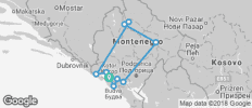 Experience Montenegro in 4 days - 10 destinations