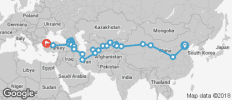 Grand Asian Caravan (from Beijing to Istanbul) - 28 destinations