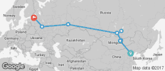 The Trans Siberian Railway with China and Mongolia (from Beijing to St Petersburg) - 9 destinations
