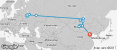 The Cossack (Moscow to Beijing) - 11 destinations