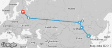 The Ruski Huski (Beijing to St Petersburg) - 9 destinations