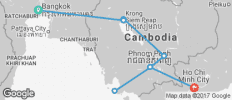 Cambodia Adventure - 8 destinations