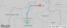 Chiang Mai to Chiang Rai by Bike - 4 destinations