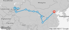 Bishkek To Beijing (41 Days) Kyrgyzstan & China - 15 destinations