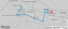 Delhi to Kathmandu - 10 destinations