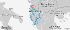 Highlights of Albania - 17 destinations