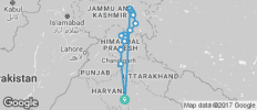 Manali to Leh Ride - 15 destinations