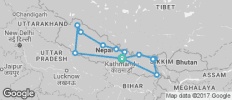 GHT  - Nepal - The Full Traverse - 13 destinations