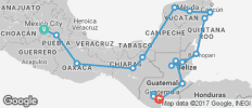 Central America Encompassed - 18 destinations