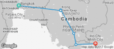 Cambodia Express - 6 destinations