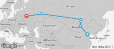 Beijing to Moscow - 6 destinations