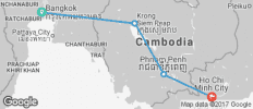 Wat\'s Up Cambodia? - 4 destinations