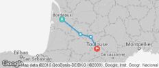 Bordeaux to Toulouse Cycle - 4 destinations