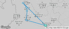 Kunming to Shangri La - 6 destinations
