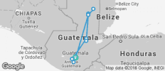 Highlight Guatemala trip - 13 destinations