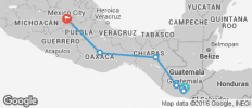 Start In Guatemala End In Mexico City (A) - 9 destinations
