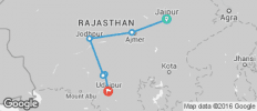 Riding Regal Rajasthan - 6 destinations