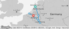 Holland, Luxembourg & Belgium - 7 destinations