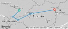 Munich, Salzburg & Vienna - 6 destinations