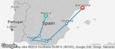The Best of Spain (from Madrid to Barcelona) - 6 destinations